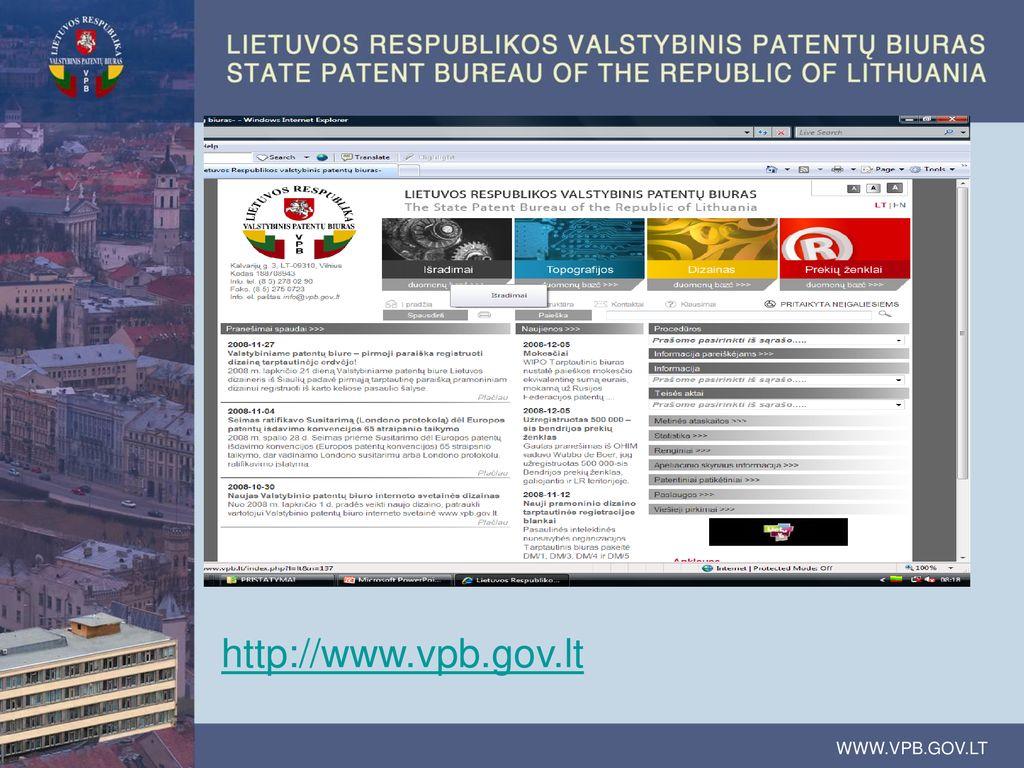 patentuota prekybos sistemos reikšmė