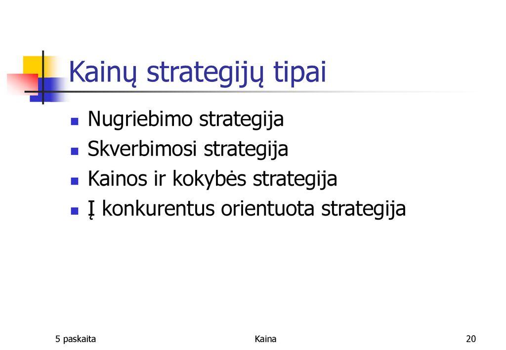 opcionų nepastovumo kainodara pažangios prekybos strategijos ir metodai)